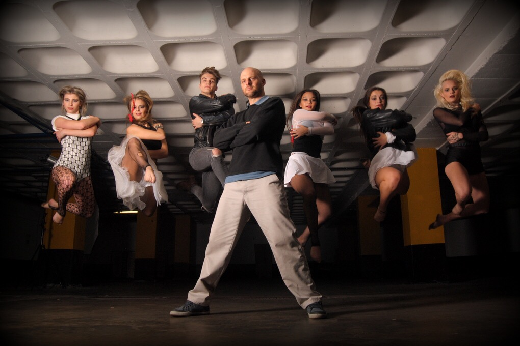 Daniel and his dancers