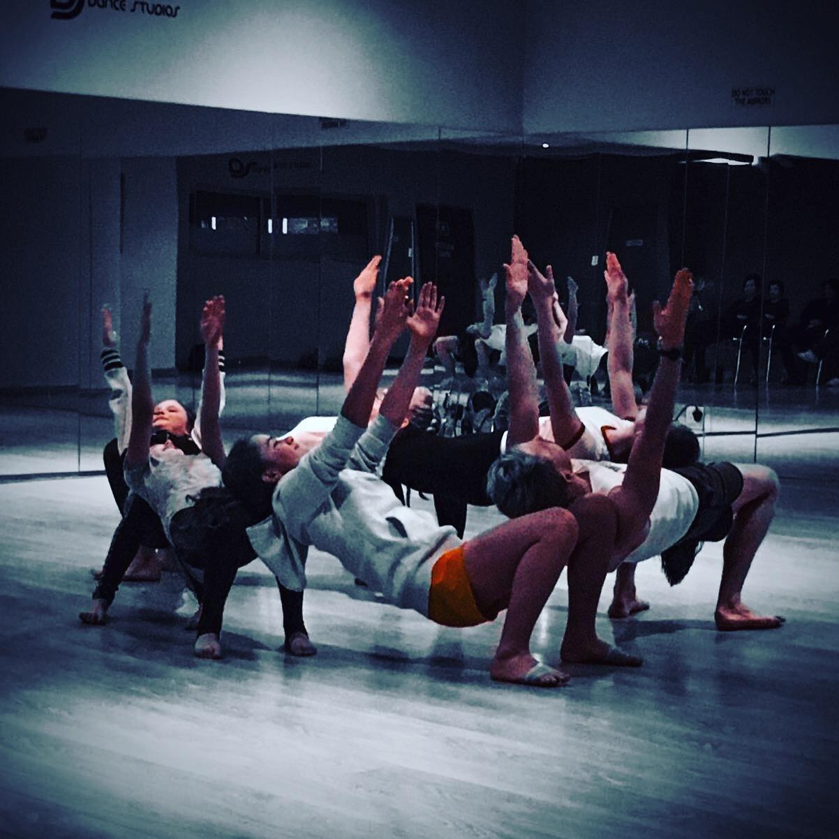 Contemporary Dance/ balance